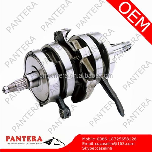 Engine Parts Steel Motorcycle Crankshaft for CB125T