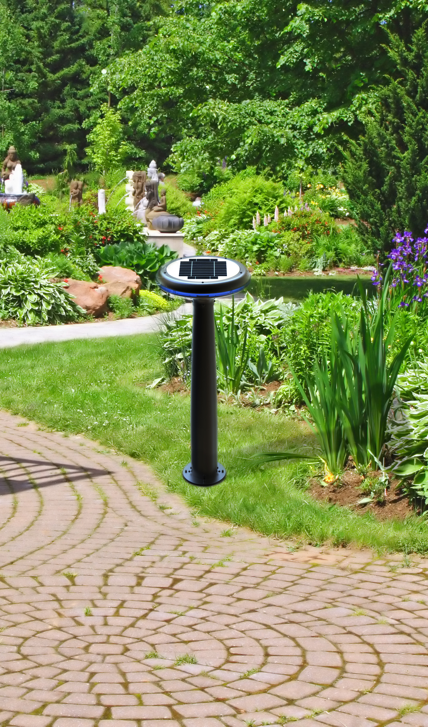Home Used Outdoor Solar Garden Stick Light With Best
