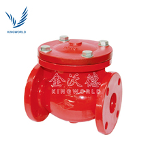 UL/FM Ductile Iron Flange Grooved Resilient Swing Check Valve Fire Fighting