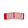 foldable mini portable Smart Cover Bluetooth Keyboard Aluminium Wireless Keyboard For iPad Air Keyboard Case