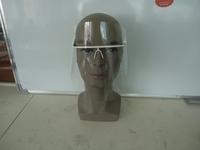 disposable medical face shield for cpr