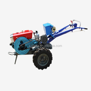 15hp to 20hp 2 wheel garden tractor power tiller with implement