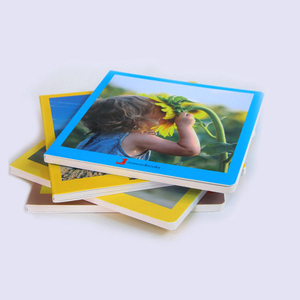 Alibaba Cheap art paper children hard cover card board book printing
