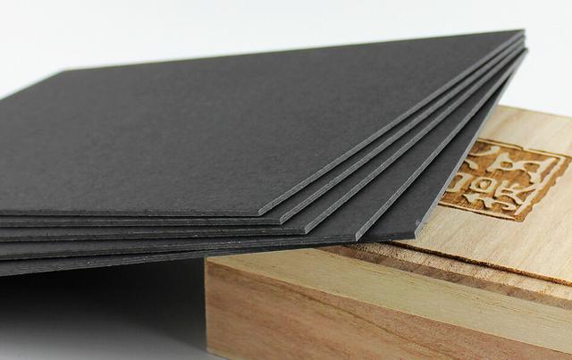 4 sheet 12mm thick black paper cardstock cardboard for