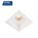 Alpha Lighting Gu10 Mr16 Square Deep Recessed Anti Glare 3 Years Warranty 10W Fixed Led Downlight