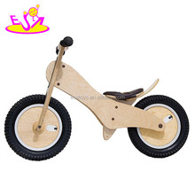 Wholesale cheap wooden kids balance bike for 2 years old up W16C059