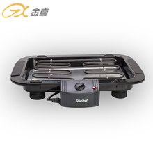2019 Nieuwe Upgrade BG-01 Rvs Infrarood Verwarming Rookloze Barbecue Elektrische BBQ <span class=keywords><strong>Grill</strong></span>