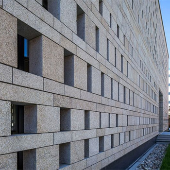 Exterior Wall Cladding 20mm Thickness Granite Stone Panels - Buy ...