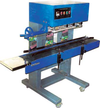Continues Pouch Sealing Machine (Bend Sealer Machine)