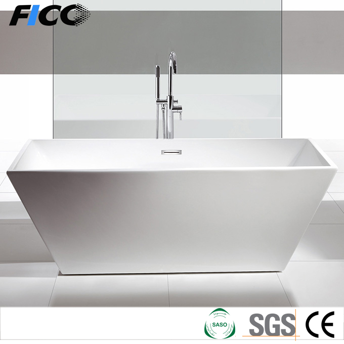 Bathtub surround 3 layers glass fiber strengthen, functional shower bathtub, large size bathtub for fat people