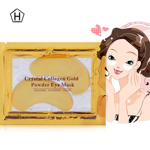 cosmetic skin care white collagen 24k gold Hydro gel eye mask lolicute 24k gold eye mask with collagen