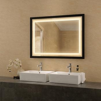 Soporte Contemporáneo Doble Lavabo Cuarto De Baño Espejo De Vanidad - Buy  Baño Tocador Espejo,Contemporáneo Doble Lavabo Tocador De Baño,Nuevo ...