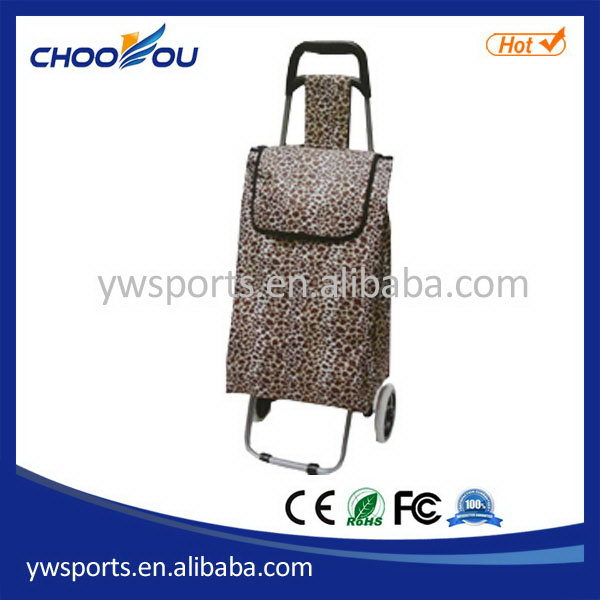Modern new coming folding shopping trolley handle tube