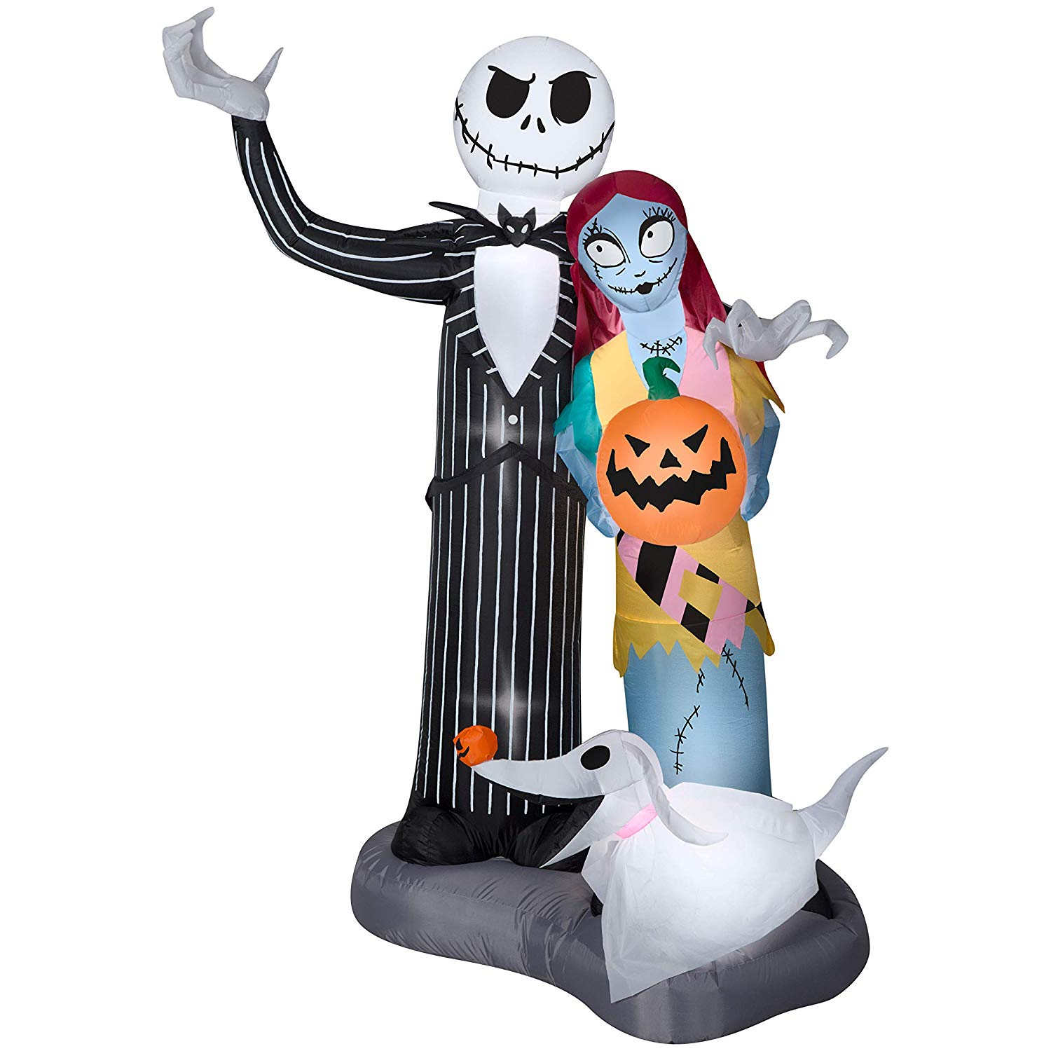 6ft Tall Halloween Airblown Inflatable Nightmare Before Christmas Scene