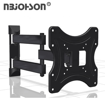 25kg/55lbs Load Capacity 180 Degrees Swivel Removable Led TV Wall Mount