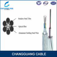 Buy AA ACS OPGW cable in China on Alibaba.com