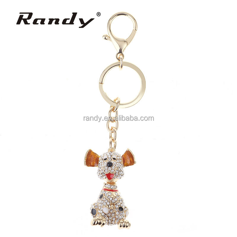 New Fashion Versatile Keyring Popular Creative Model Dog Keychain