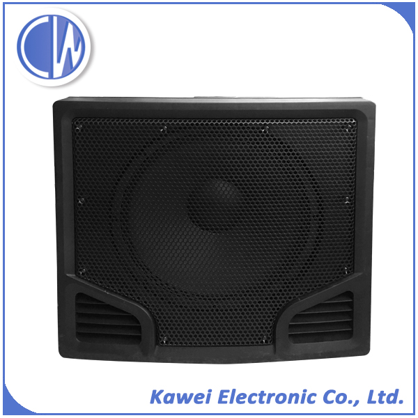 600W Plastic speaker cabinet with subwoofer