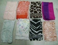 Customized design 100% natural Silk Scarfs