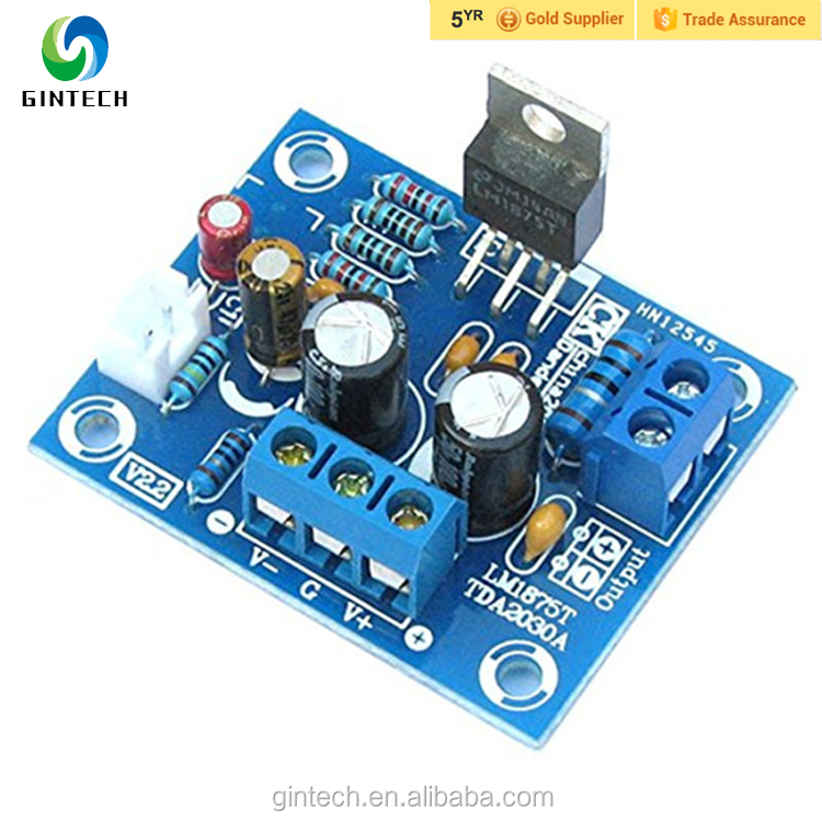 LM1875T mono fever level amplifier board amplifier amp pcb production DIY kit