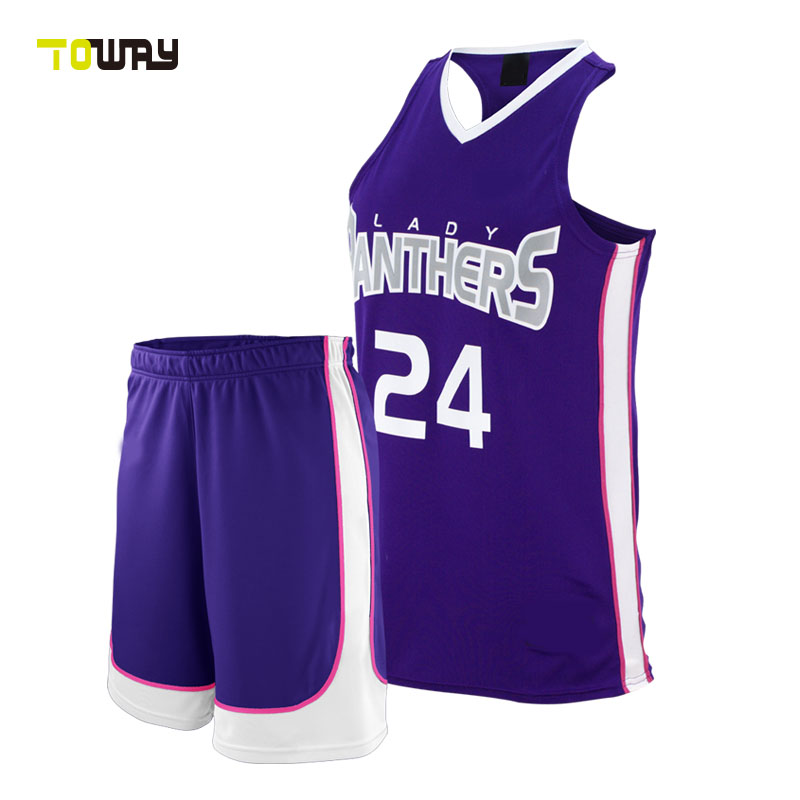 57f1c5f49 Woman Basketball Jersey Design 2015 2016 Color Purple - Buy Woman ...