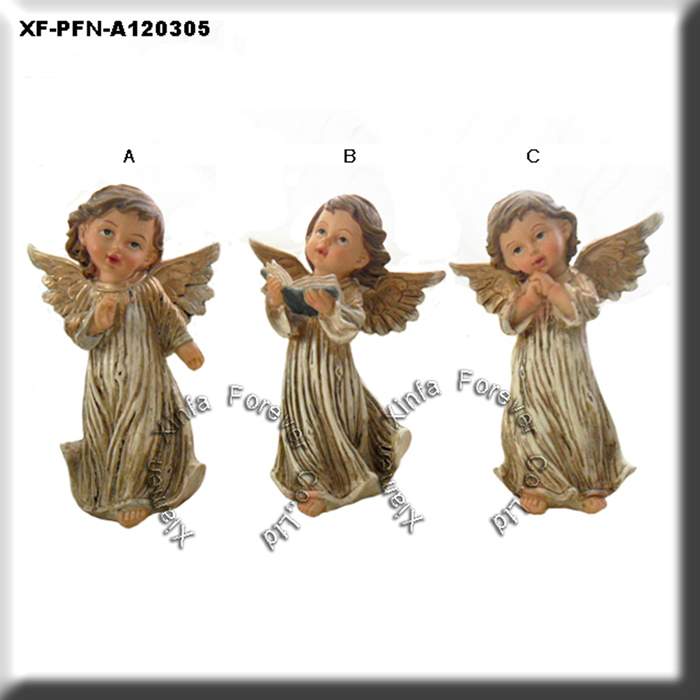 resin craft angel figurine