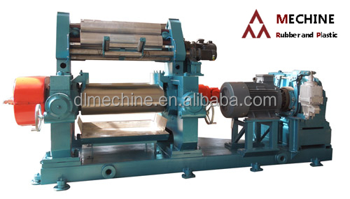 Mixing mill rubber machine