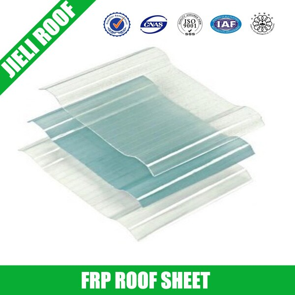 Plastic FRP Transparent Sheet for Walls/Roofs
