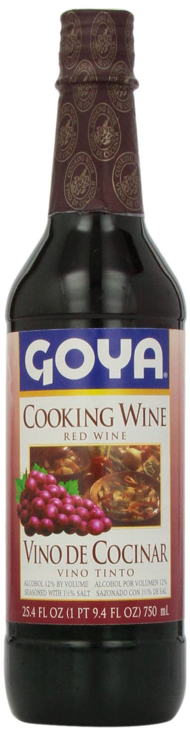 Goya Red Cooking Wine, 25.4 oz