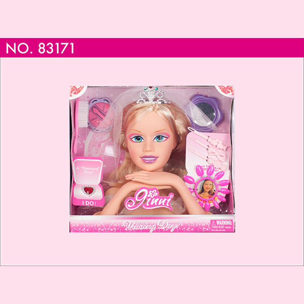 83171 Ginni doll Dressing head make-up face fashional dolls toys with Accessories