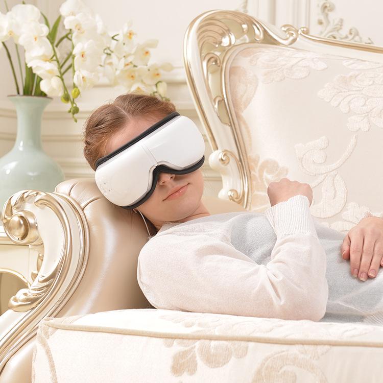 自動家庭用電気目のケアマッサージストレスを解消アイマッサージャーツール