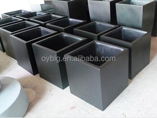 cuadrado moderno fibra rbol jardn impermeable
