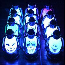 <span class=keywords><strong>Halloween</strong></span> ghost koplampen LED flamess kaars Hot koop