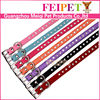 factory price colorful pet dog collar diamond studded dog collar wholesale