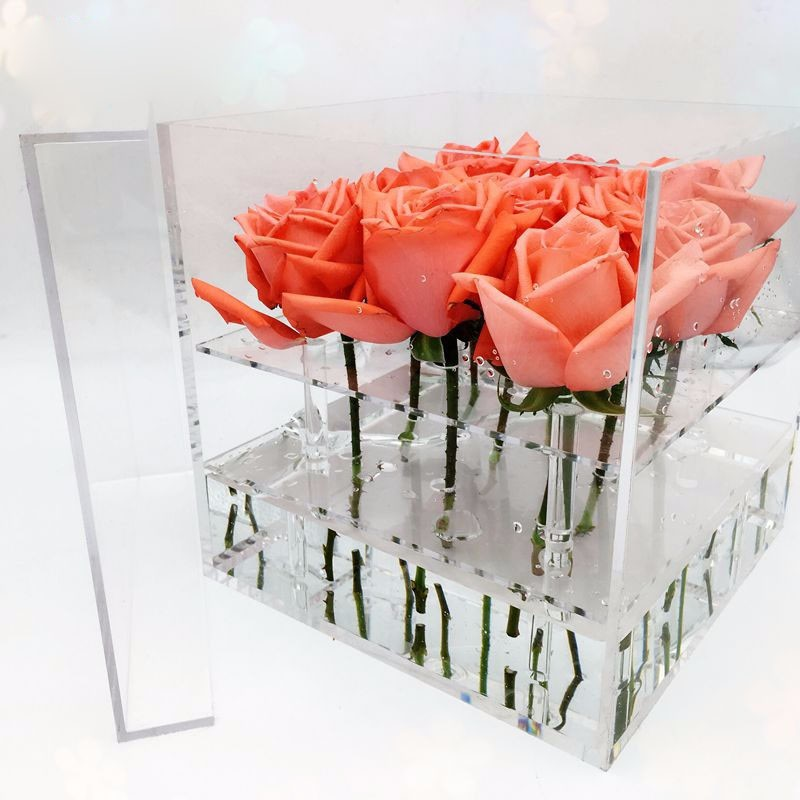Acrylic Rose Box Crystal Flower Box Gift Box & Acrylic Rose Box Crystal Flower Box Gift Box - Buy Acrylic Rose ... Aboutintivar.Com