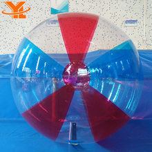 Customized YL INFLATABLES Multi Colors Water Walking Ball, Inflatable Water Toys, Inflatable Bubble Beach Ball For Sale
