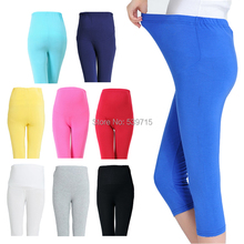 maternity clothes maternity pants Hold Up Abdomen soft maternity Leggings model clothes for pregnant women 9