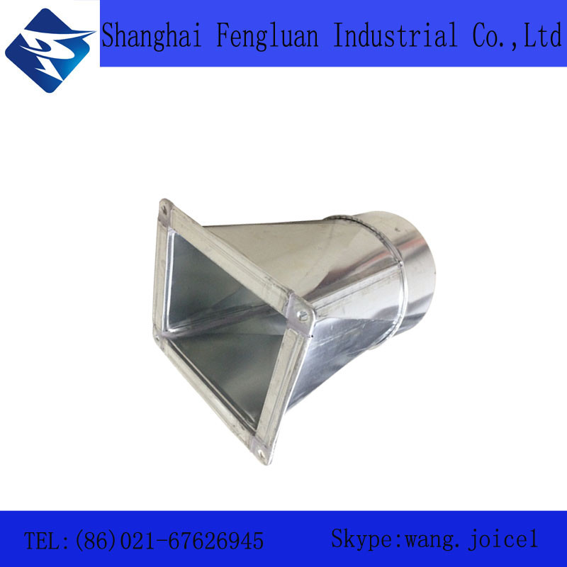 0.6mm Thickness Air Round/square Duct Reducer