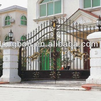2015 Top Selling Classical Garden Iron Metal Deck Gates