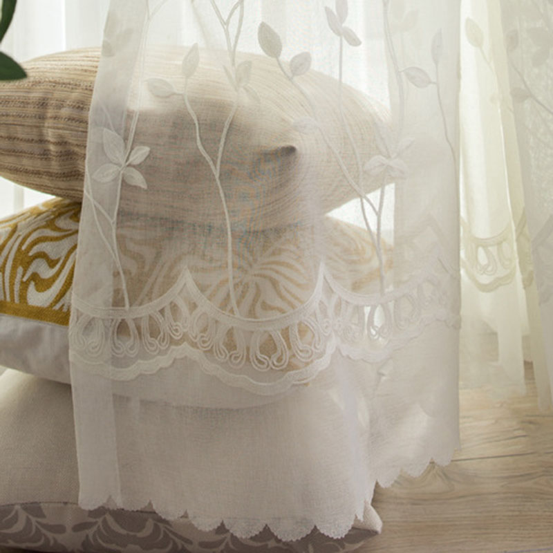 stocklot sheer hotel 92x90 in organza fabric for curtain, sheer voile organza embroidered sheer curtains