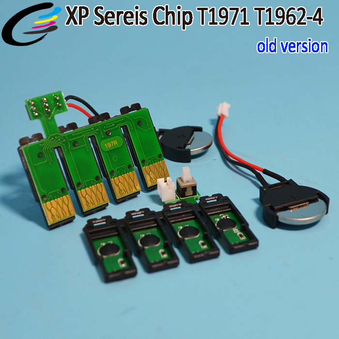 T1971 T1962 T1963 T1964 CISS Auto Reset Chip for Epson XP 214 211 204 Printer