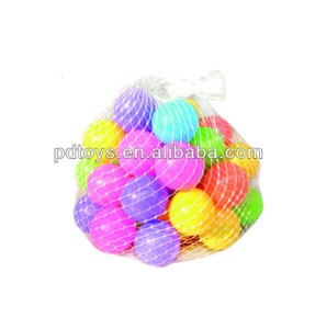 PE Net bag packing pool pit ball for sales