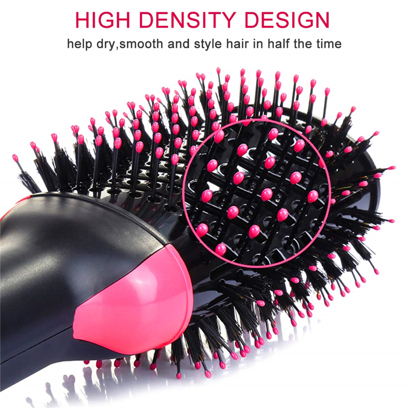 One Step Hair Dryer and Volumizer - Salon Multi-function Hair Dryer & Volumizing Styler Comb,Hot Air Paddle Styling Brush