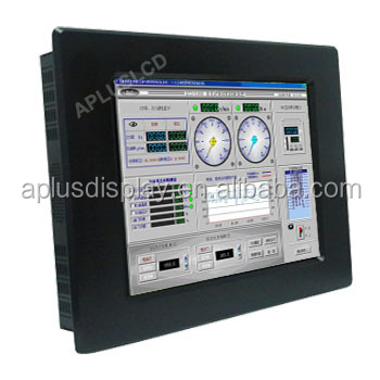 waterproof touch screen 8 10 12 15 17 19 21.5 22 24 inch ip65/IP66 industrial lcd LED Monitor for POS Kiosk KTV Gaming