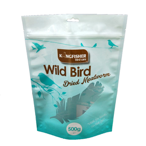 Fish bird feed bag plastic bag handbag upmarket pet food bag seal pocket printing logo