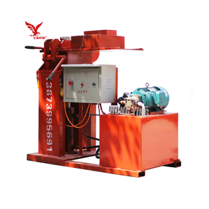 HY2-20 manual clay hollow brick making machine in Mauritius