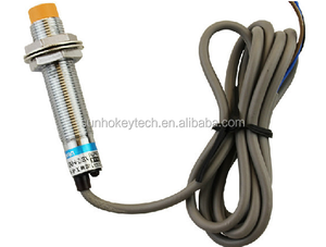 M12 proximity switch sensor 24v npn normally open three wire 4mm detection distance LJ12A3-4-Z/BX