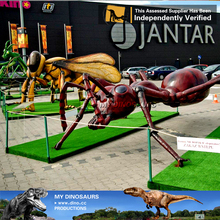 MY Dino-C003 Lifelike robots giant insect models for sale
