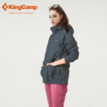 KingCamp Outdoor Women Newest Waterproof Winter Jacket for Motorcycle Camping and Ski Hiking Jacket Hooded Snow