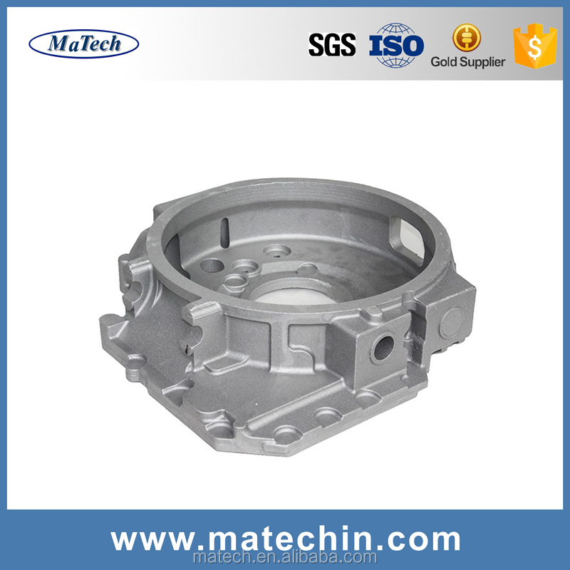 Aluminum Low Pressure Casting Motor Clutch Bell Housing